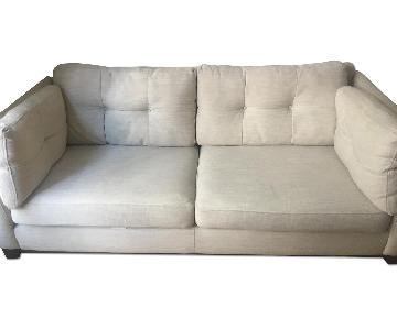 DFS Tufted Sofas