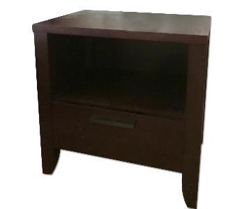 Crate & Barrel End Tables