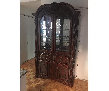 Furniture of America Elana Buffet w/ Hutch