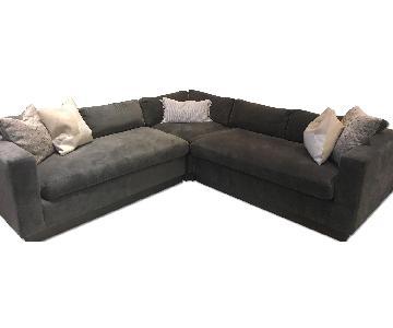 ModShop Delano Custom Grey Sectional Sofa