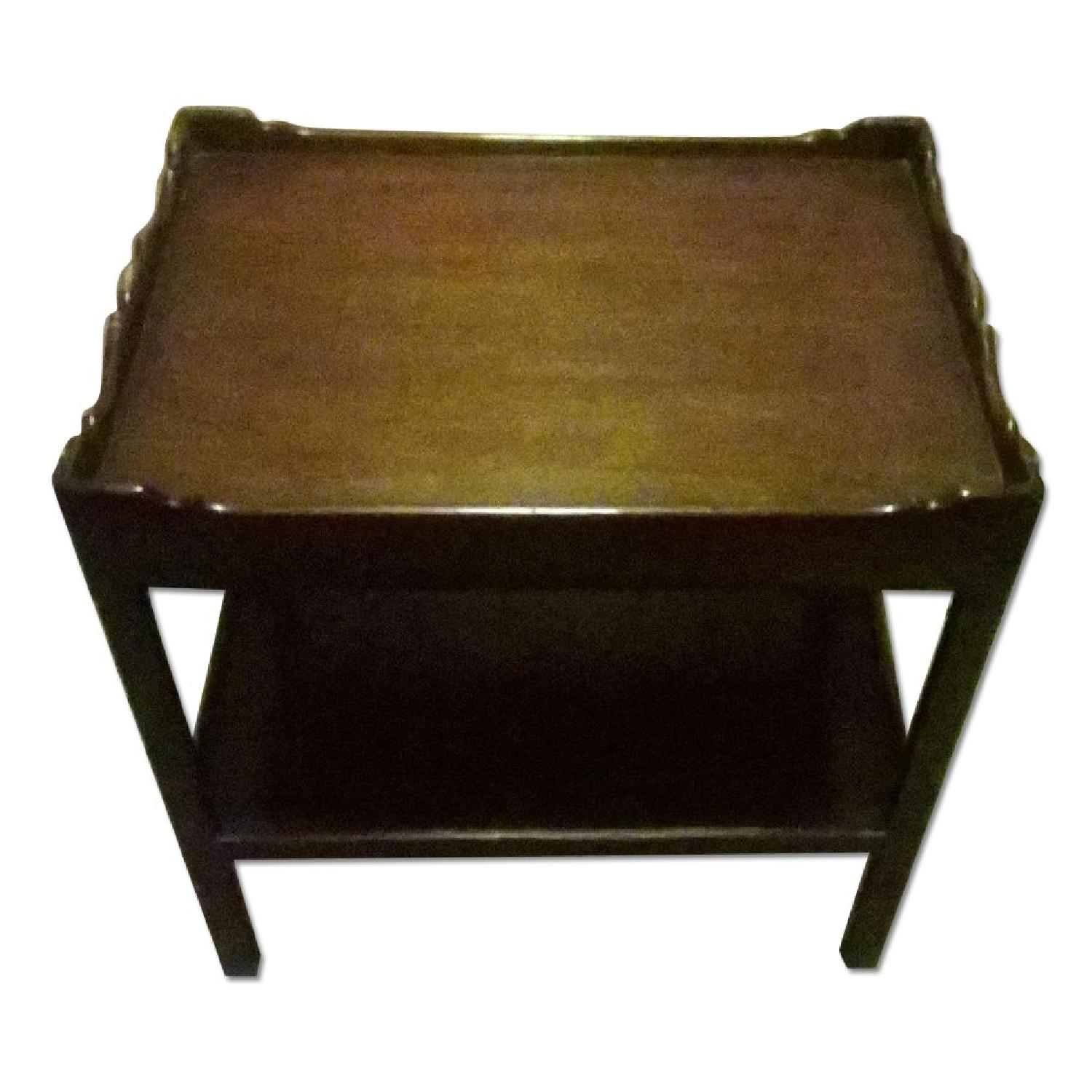 Cisco Brothers Distressed Side Table