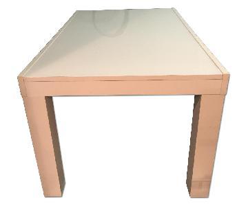 BoConcept White Extending Dining Table