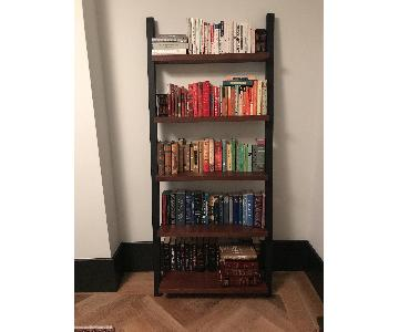 One Kings Lane West Leaning Bookcase