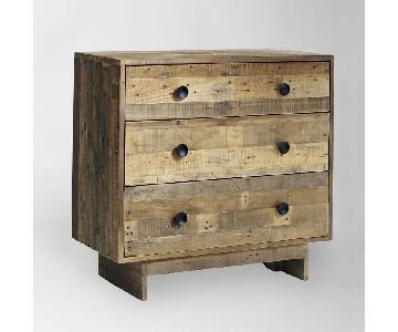 West Elm Emmerson Reclaimed Pine 3-Drawer Dresser