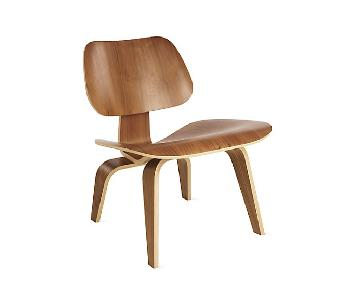 Herman Miller Eames Molded Plywood Lounge Chair (LCW) Santos