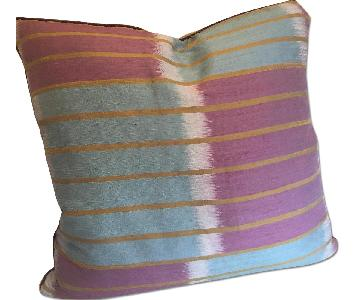 Custom Made Jim Thompson Silk Aura Throw Pillows