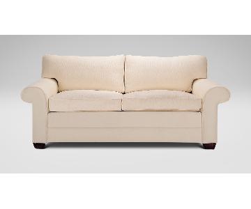 Ethan Allen Bennett Roll-Arm Sofa