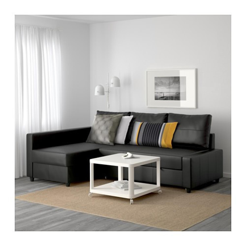 ikea friheten black leather sectional sleeper sofa2