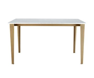 CB2 Paradigm Marble Dining Table