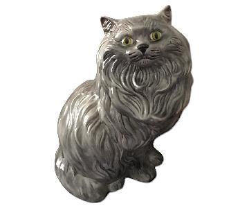 Antique Cat Sculpture