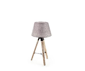 New Haven Small Rustic Floor Tripod Lamp