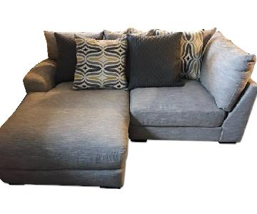 Raymour & Flanigan Leighton Sectional Couch