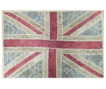 Handmade British Flag Union Jack Carpet