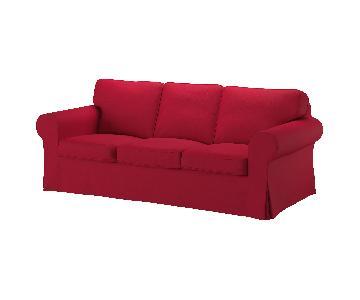 Ikea Ektorp 3-Seater Sofa + 3 Slipcovers