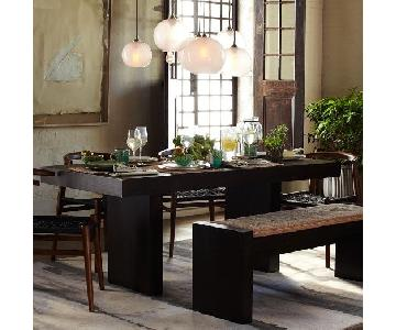West Elm Terra Dining Table w/ Bench