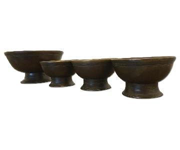 Restoration Hardware 19th C. Cast Brass Bowls