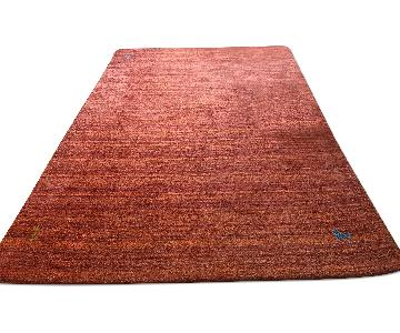 Hand-Knotted Wool Gabbeh Area Rug