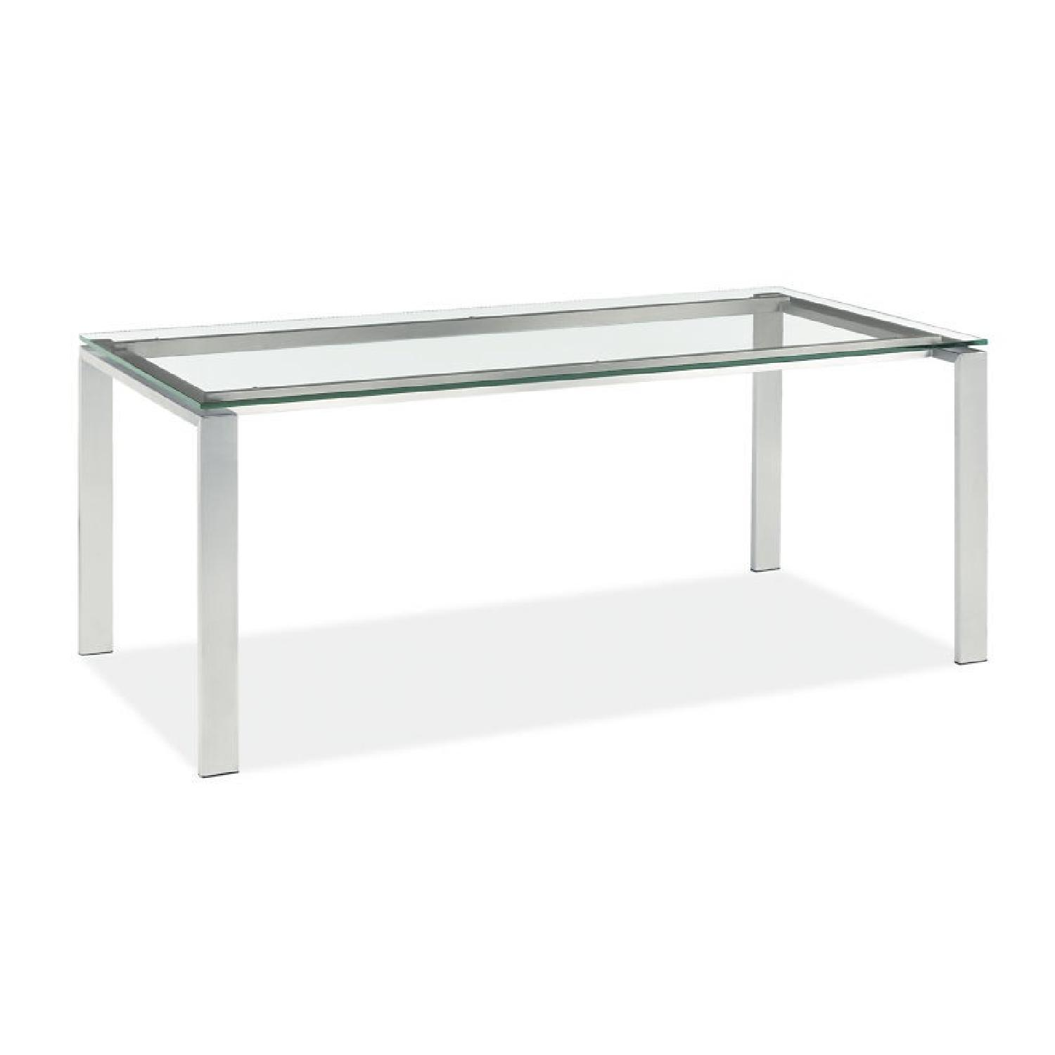 Coffee table room and board coffee table room and board room u0026 board glass u0026 stainless steel console table aptdeco geotapseo Image collections