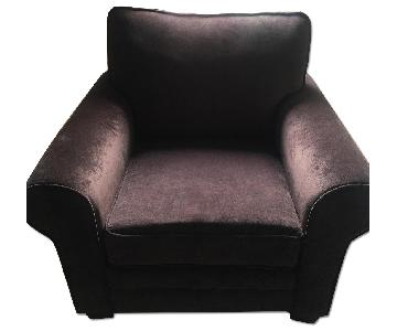 Bob's Dark Brown Armchair