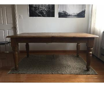 Large Harvest French Country Farm Table
