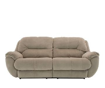 Raymour & Flanigan Kathy Ireland 2-Seater Reclining Sofa