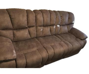 3 Seater Couch w/ 2 Reclining Seats