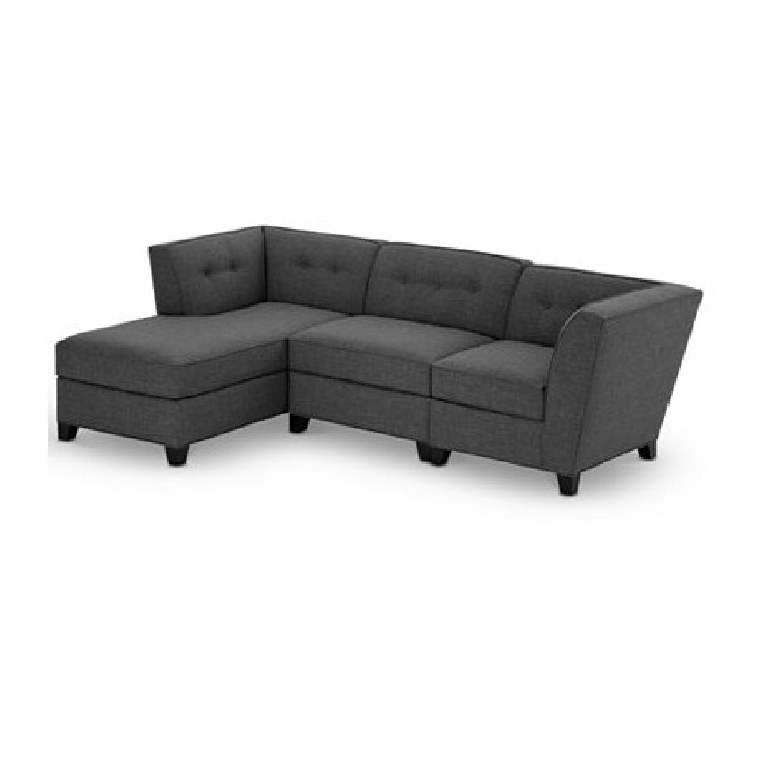 Macy s Harper Fabric 3 Piece Modular Sectional Sofa AptDeco