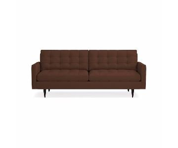 Crate & Barrel Petrie Mid-Century Sofa