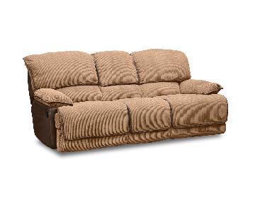 American Signature Furniture Laguna Dual Reclining Sofa in C