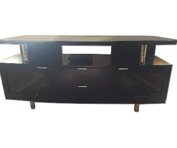 AAA Furniture Wholesale Black Wood TV Table