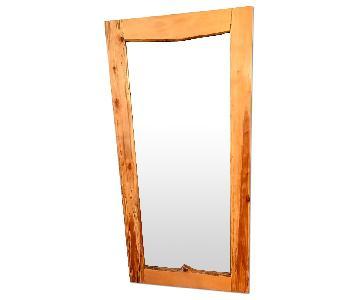 Live Edge Spalted Maple Full Length Mirror
