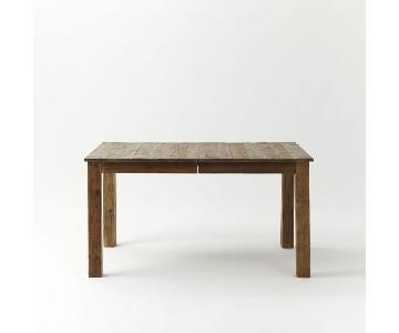 West Elm Reclaimed Wood Expandable Dining Table
