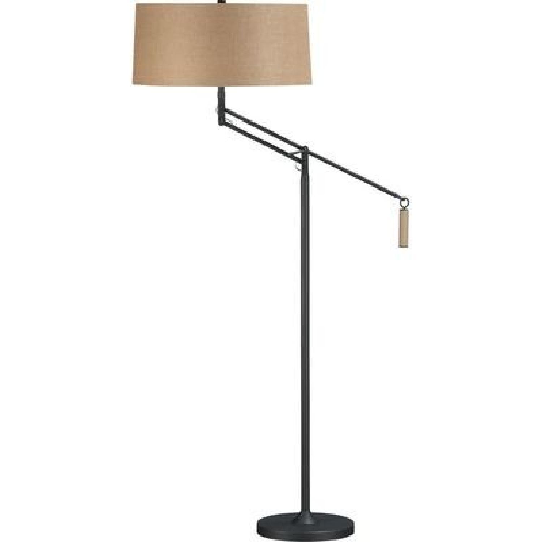 Crate & Barrel Autry Floor Lamp