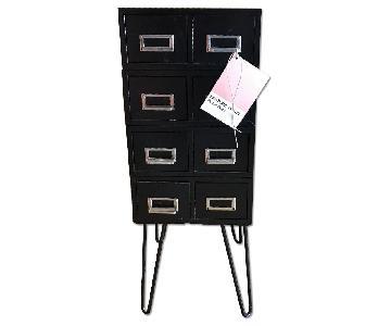 Vintage Flash Card Filing Cabinet
