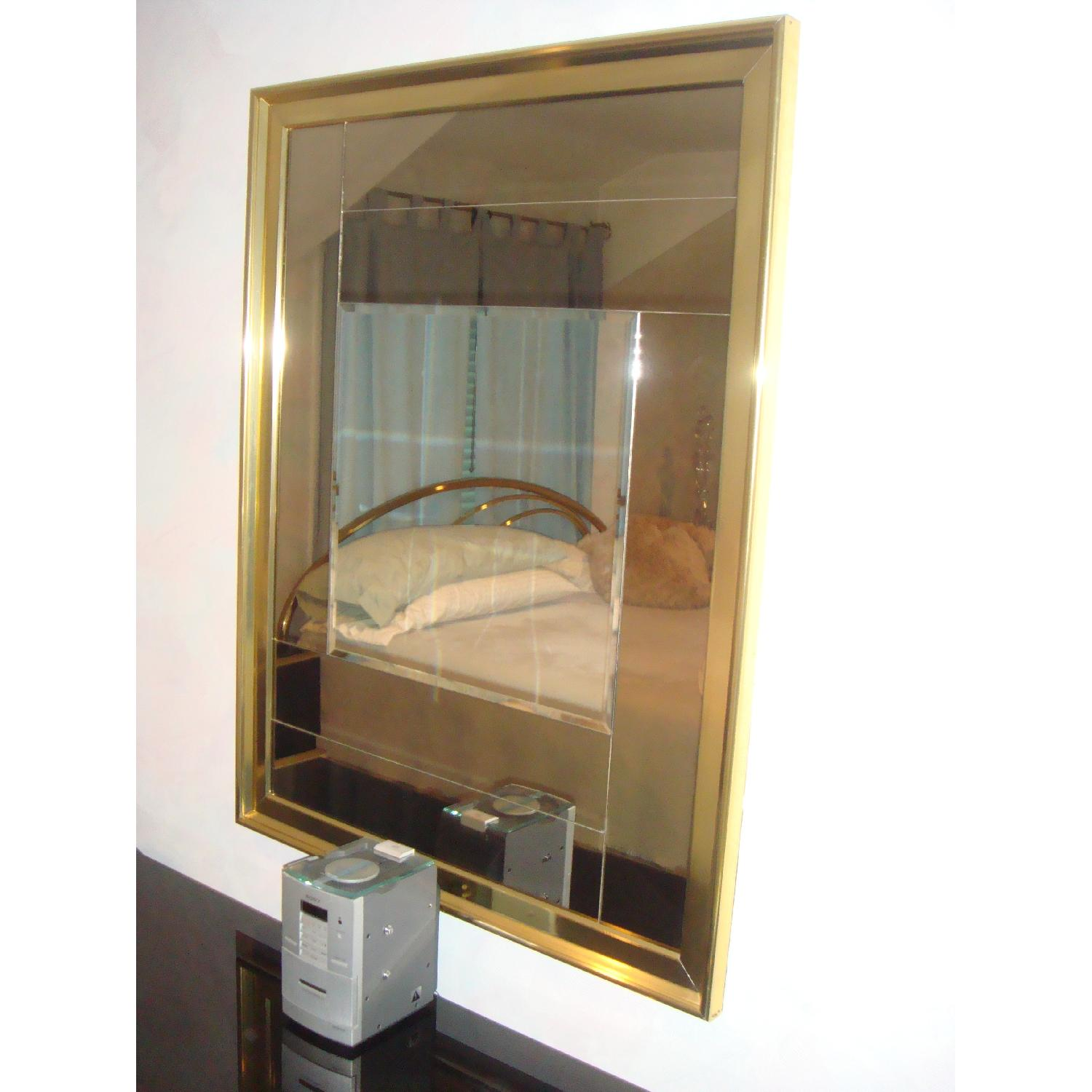 5 Piece Contemporary Brass & Glass Bedroom Furniture - image-3
