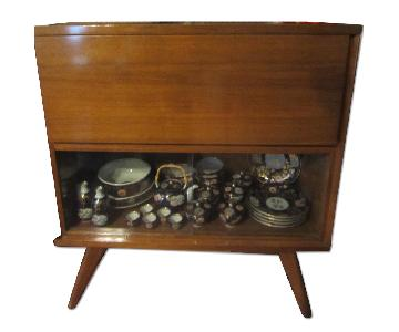 Dining/Lving Room Wooden Cabinet with Showcase
