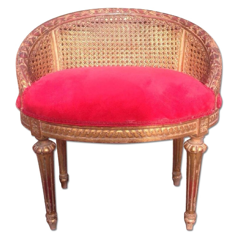 French 1860 Louis Xvi Vanity Chair Aptdeco