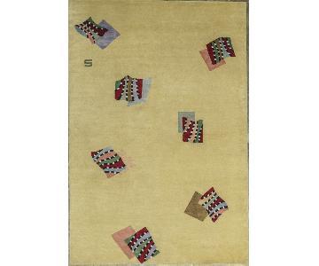 Himalayan Art Contemporary Hand Woven Area Rug