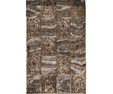 Himalayan Art Contemporary Hand-Woven Area Rug