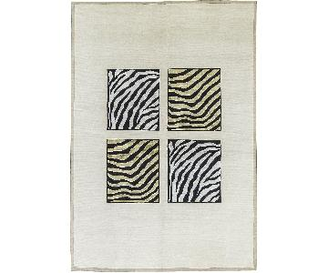 Himalayan Art Contemporary Hand Woven Rug