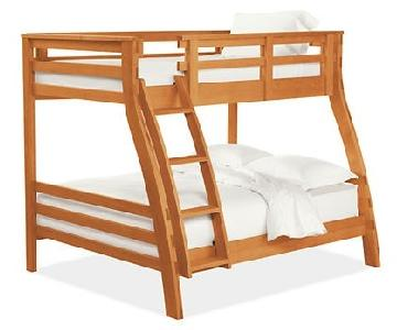 Room & Board Solid Cherry Wood Griffin Duo Bunk Bed