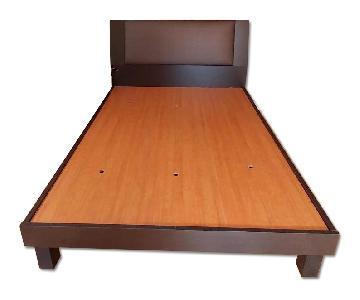 Modern Queens Size Storage Bed