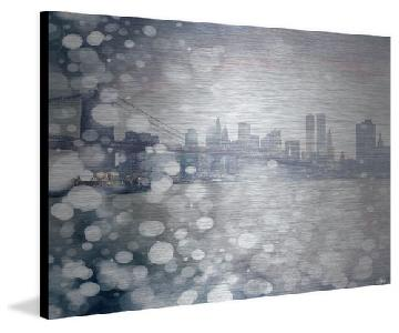 Parvez Taj Wall Art - Downtown on Aluminum