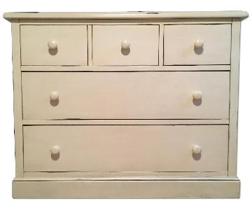 Potter Barn Distressed Dresser
