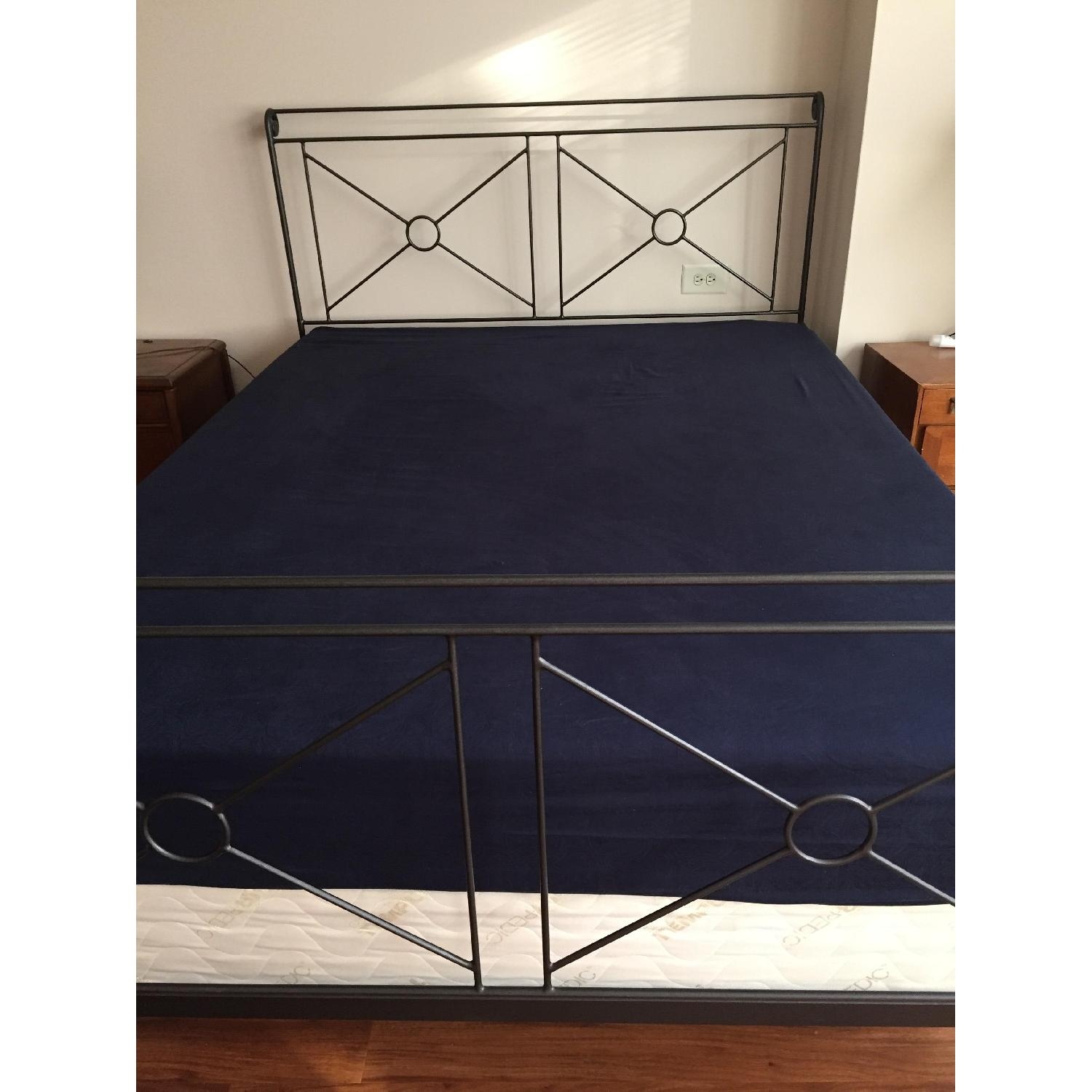 Charles P. Rogers Queen Size Campaign Bed-0