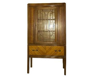 Art Deco Style China Cabinet