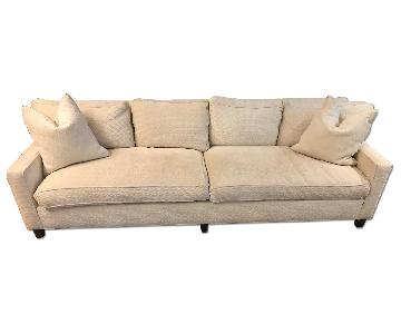 Hickory Chair Burton Sofa in Ivory