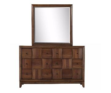 Raymour & Flanigan Jovi Dresser w/ Mirror