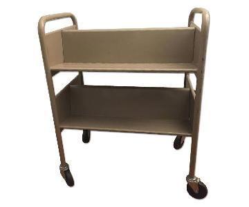 Gaylord Vintage Steel Library Book Cart
