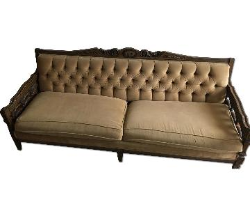 Vintage Tufted Sofa